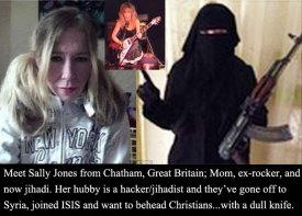 Sally Jones - Helping Train Jihadists To Attack Her Own Country