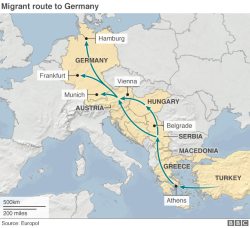 Routes To Germany