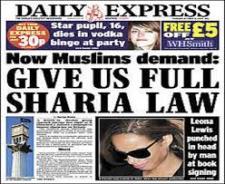 Muslim Demands!