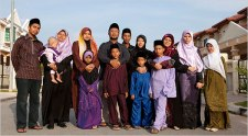 Muslim Family With 12 Children