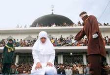 Sharia Law Public Lashing