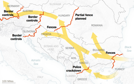 The Spread Of Anti-Refugee Entry Control
