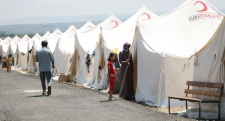 Turkish Refugee Camp