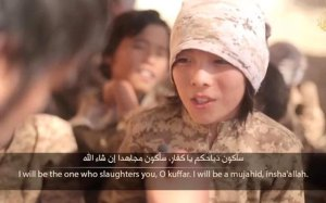 Isis Starts Training On The Very Young!