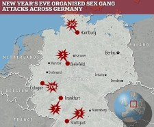 Muslim Gang Rapes In Germany - New Years Eve.