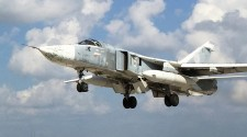 Russian Sukhoi Su-24 Fighter Bomber