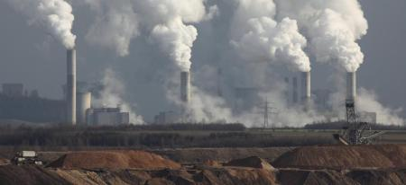 energy-coal-power-plant-smokestacks-with-tailings
